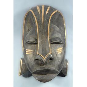 Mascara Arte Negro Africano Tallada Danzante(3006)