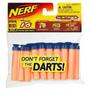 10 Paquetes De Dardos Chupas Nerf X 16 Und Hasbro