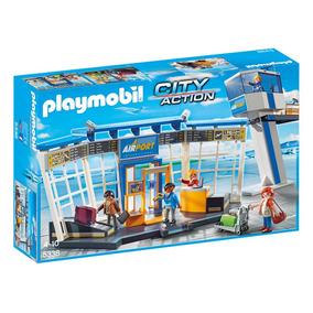 Playmobil 5338 Aeropuerto Con Torre De Control