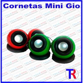 Cornetas Mini Altavoces Marca Gio C550 Speaker