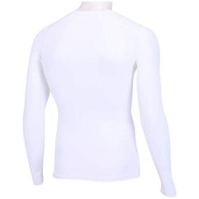 Camisa Termica De Compressão Umbro Twr Manga Longa Branca c039e56182202