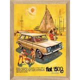 Fiat 1500 Cuadros Posters Carteles Publicidades X215