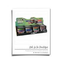 Caja 24 Paletas De Sombras Blink & Bold Kleancolor #0490