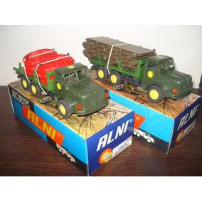Alni Set Camiones Con Puente Flotante Caja Original Supertoy