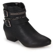 Ankle Boots Feminina Mooncity - Preto