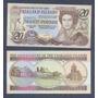 Islas Malvinas Falklands 20 Libras 1984 P. 15 Sin Circular