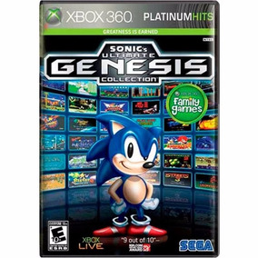 Sonic Ultimate Genesis Collection Xbox 360 Fisica Lacrado Nf