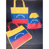 Bolsas Ecológicas - Modelo Tricolor - Venezuela.