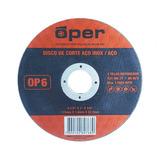 Disco Corte 4.1/2 X1,0 Fino Inox/aço Super Reforçado - Oper