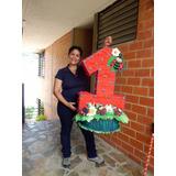 Piñata Personalizada De Lady Bug - Coquitos - Mariquitas