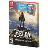 The Legend Of Zelda Breath Of The Wild Nintendo Switch Bonus