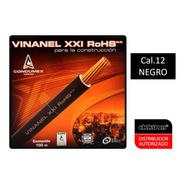 Caja 100 Mts Cable Negro Thw Cal 12 Awg Condumex Vinanel Xxi