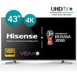 Smart Tv Led 43 Hisense 4k Uhd Hdmi Usb * Garantia Bgh 1 Año