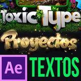 Proyectos After Effects Editables Textos Intros 20gb Oferta!