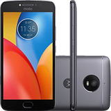 Celular Motorola Moto E4 Plus 16gb Preto 13mp 4g Xt1771 + Nf