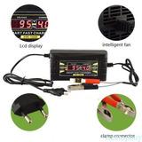 Cargador Bateria Auto, Moto.6 Y 20 Amperios Pantalla Lcd