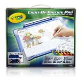 Crayola; Light-up Tracing Pad; Blue; Art Tool; Bright Leds