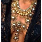 Maxi Collar Fiesta Dorado