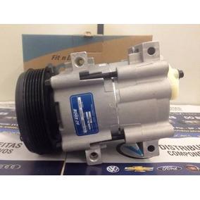 Compressor Ford Escort Zetec Polia 6pk Novo Fx15 Fs10