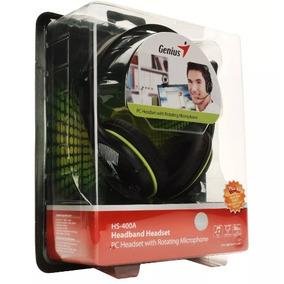 Auriculares Vincha Genius Hs 400a Pc - Notebook - Netbook