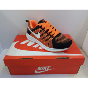 Zpt Deportivos Nike Air Max Zoom, Tallas 36-40. Anaranjado