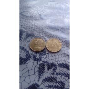 Moedas 10 Centavos Francesa