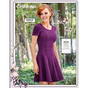 Vestido Color Morado 932-84 Cklass