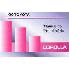 Manual Proprietário Corolla 99 Em Arquivo Pdf Envio E-mail