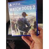Watch Dogs 2 Ps4 Nuevo Sellado Fisico Entrega Inmediata