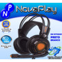 Fone Headset Usb Extremor Gamer 7.1 Vibration Hs400-oex Ps4