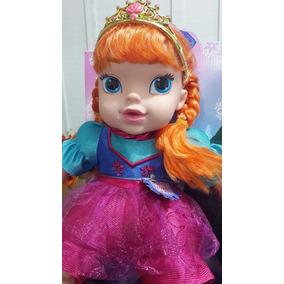 Boneca Bebê Frozen - Ana - Canta A Musica- Importada