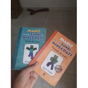 2 Livros De Minecraft Diário De Um Zumbí Do Minecraft
