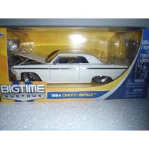 Carro De Coleccion Bigtime Kustoms 1964 Chevy Impala1/24