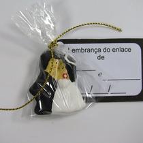 Noivinhos Lembrancinhas Casamento C/ 125 - Cabelinhos Pretos