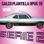 Calco Plantilla Cupe Chevy Opus 78 Serie 2 Calcomania Ploteo