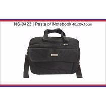 Maleta Bolsa Pasta Mochila Case Para Notebook Em Nylon