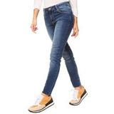 Combo 2 Pantalones De Jean Elastizado Tiro Alto Talle Color