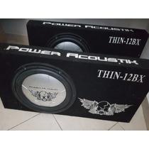 Equipo De Sonido 2x Woofer Sellados Power Acoustik + Ampli