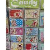 Tarjetas Candy Personales X 100 Amistad Amigo Dedicatorias