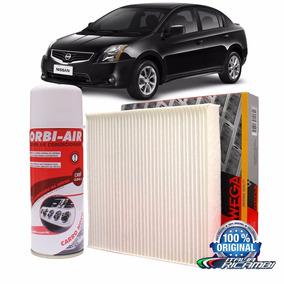 Filtro Cabine Ar Condicionado + Higienizador - Nissan Sentra
