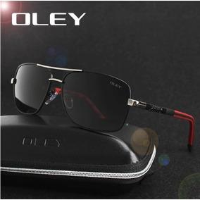 e13df3111558f Óculos De Sol Masculino Oley U V 400 Anti-reflexo Polarizado
