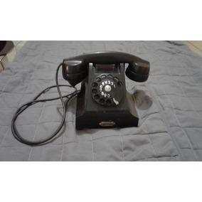 Antiguo Telefono Baquelita Ericsson Restauracion Decoracion