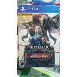 The Witcher 3 Wild Hunt Blood And Wine Ps4 Nuevo Sellado
