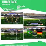 Titulacion Futbol, Compatible Para Vmix Tricaster