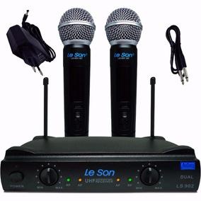 Promoção! Leson Ls902-ht/ht Mão Mão Microfone Duplo Sem Fio