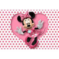 Painel Decorativo Festa Infantil Disney Minnie Mouse (mod1)