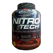 Nitro Tech 4 Lb Muscletech Proteina Isolada Whey Importada