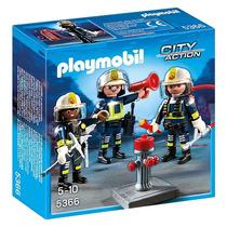 Playmobil 5366 Equipo De Bomberos