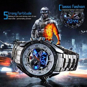 Relógio Masculino Tvg Digital E Analógico Original Led Lindo