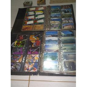 Coleção Cartão Telefônico Top Com 1221 Cartões